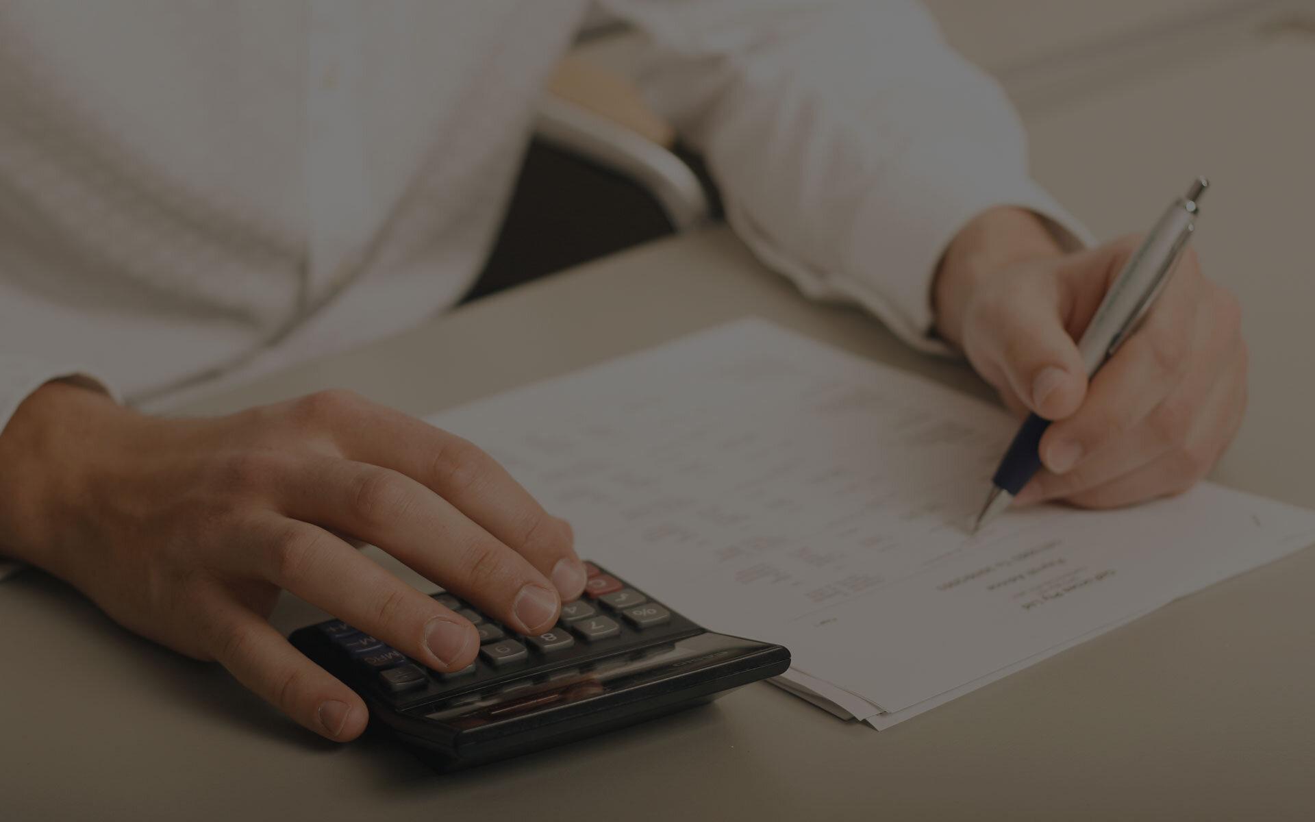 serviço de contabilidade