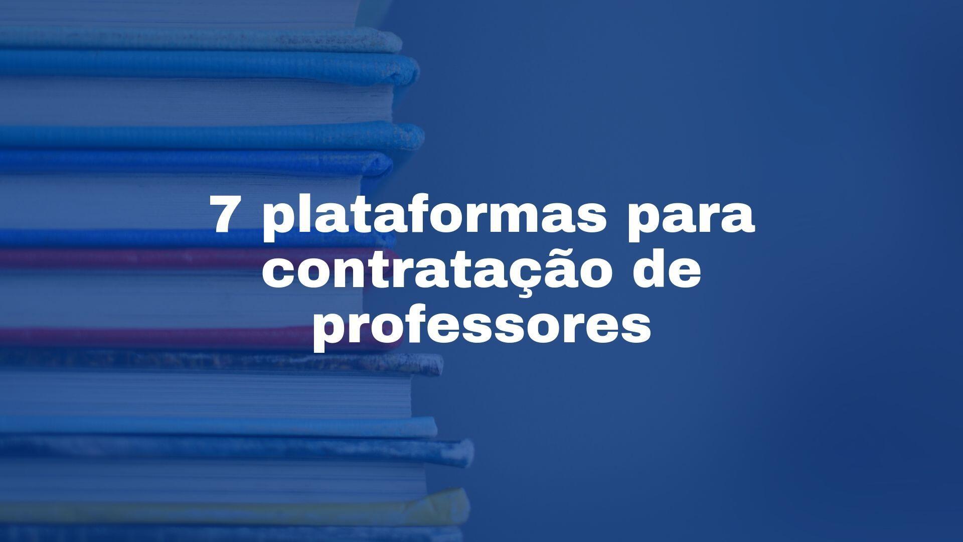 serviços contábeis escolas - plataformas contratação professores