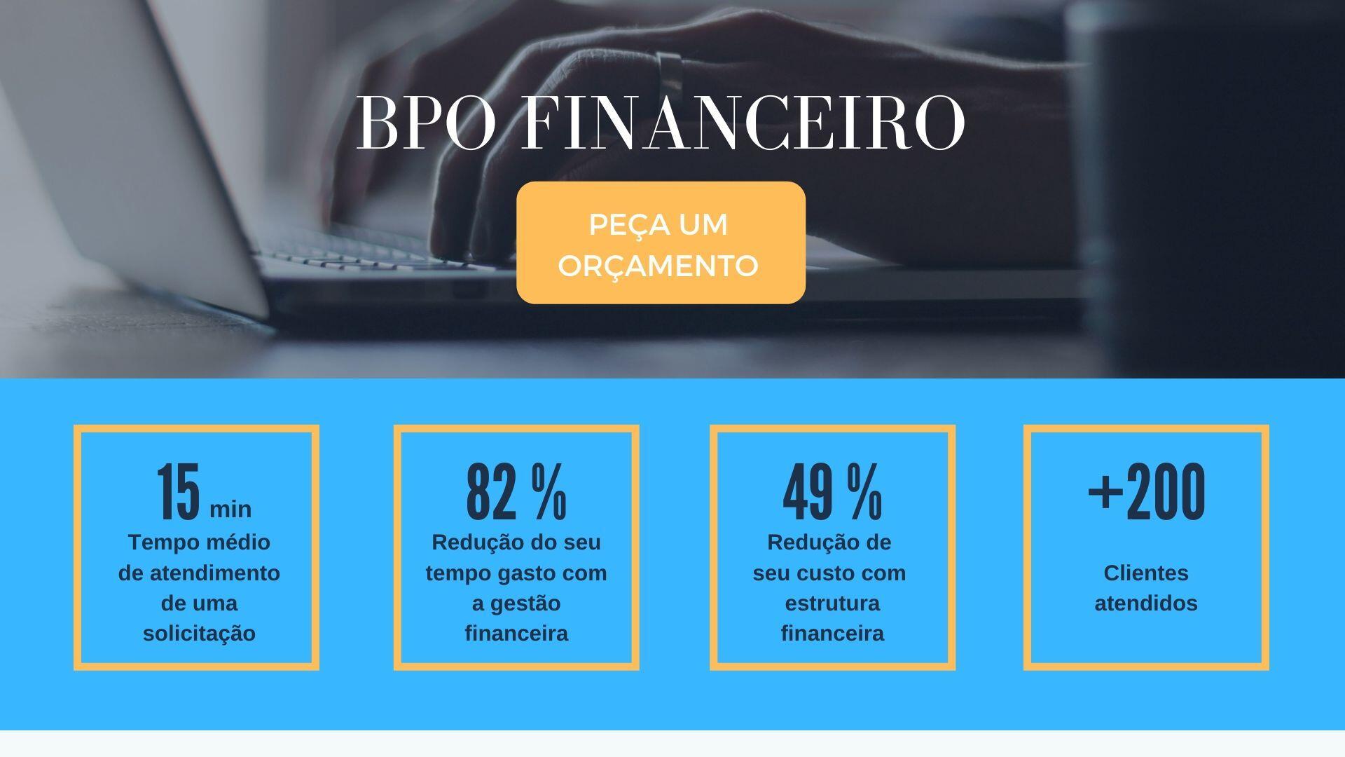 BPO Financeiro - indicadores gerais